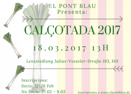 Ja la tenim aquí: Calçotada d'El Pont Blau 2017 amb rumba catalana!