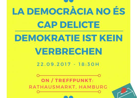 Demokratie ist kein verbrechen